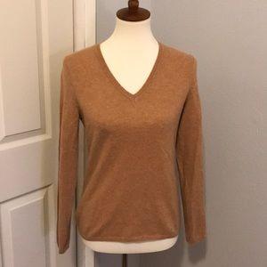 💯 cashmere tan sweater